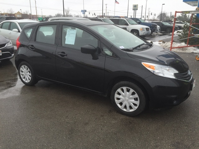 pre owned 2015 nissan versa note sv 4d hatchback in paris 31860 dan cummins chevrolet buick. Black Bedroom Furniture Sets. Home Design Ideas